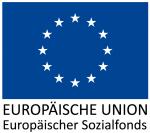 ESF Logo in blau-weiß