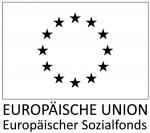 ESF Logo in schwarz-weiß