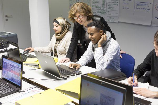 start2work - Caritas Fluechtlingshilfe Sprachkurs Ausbildung